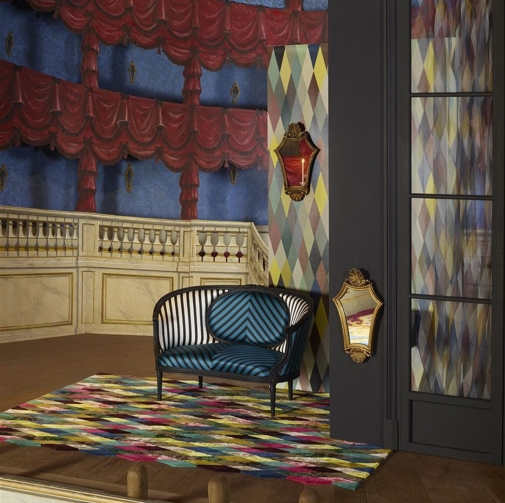 Дизайнерские ковры Кристиана Лакруа фабрики Designers Guild