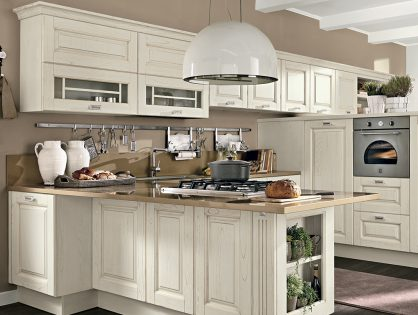 Обновленная кухня Laura от Lube Cucine