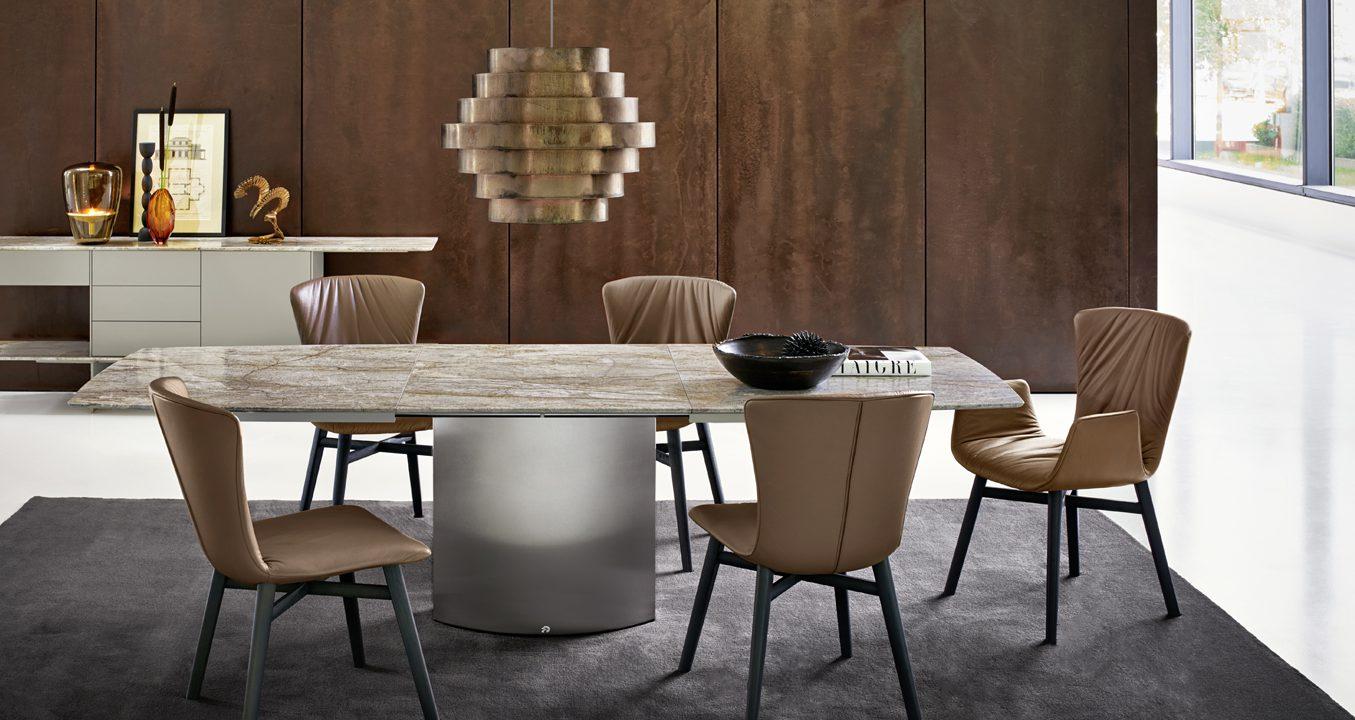 Draenert - современные столы из мрамора