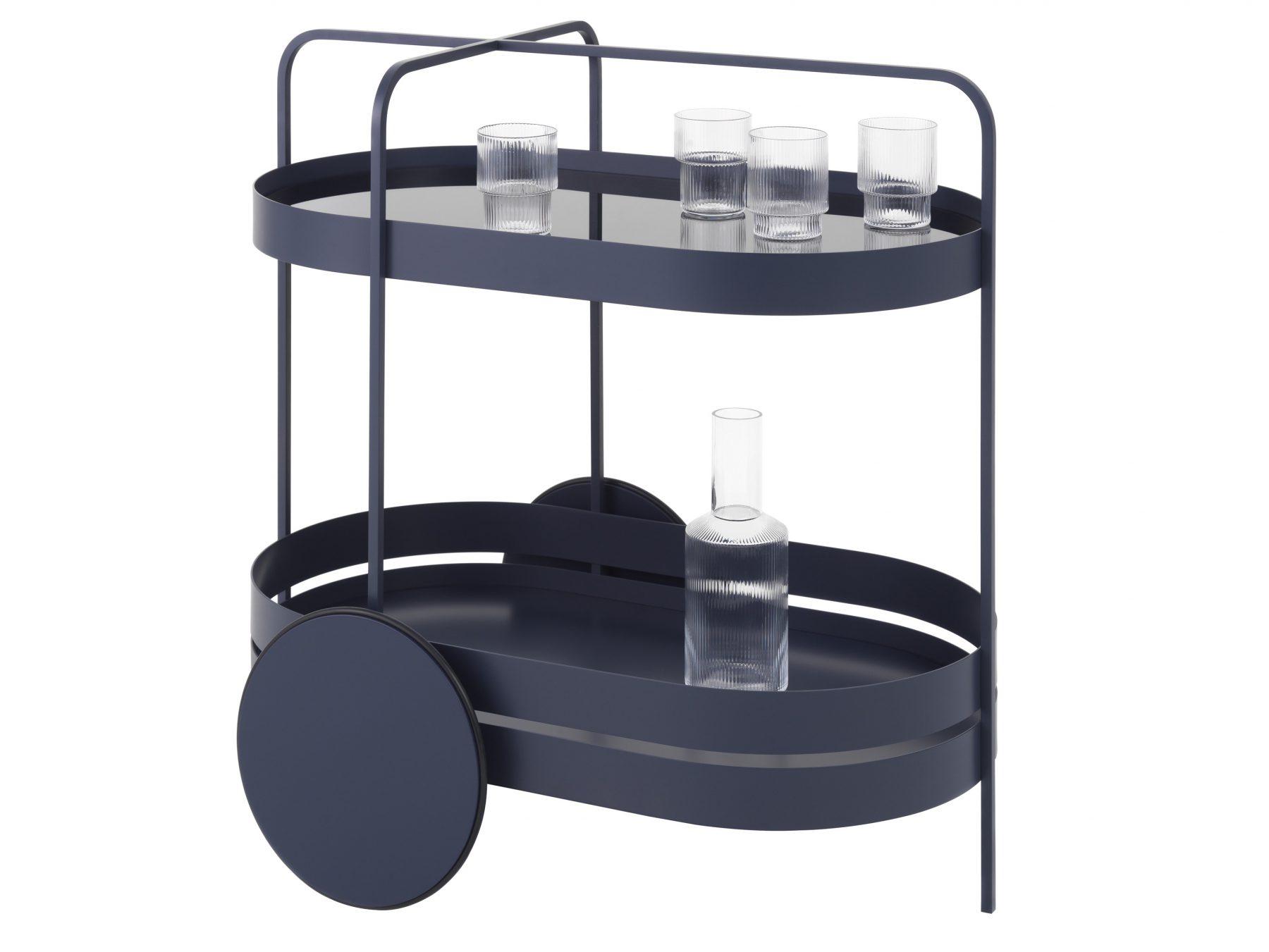 Сервировочный столик на колесах Grace от Schönbuch